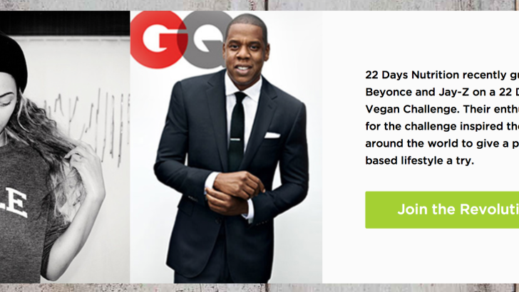 """Beyonce Launches """"22 Days"""" Vegan Meal Delivery Service"""
