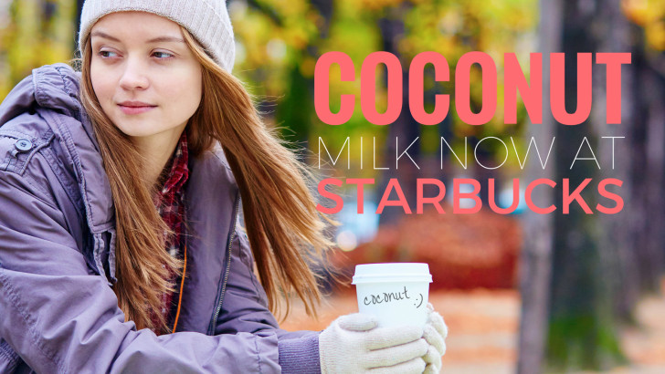 Starbucks Adds Coconut Milk to All U.S. Menus