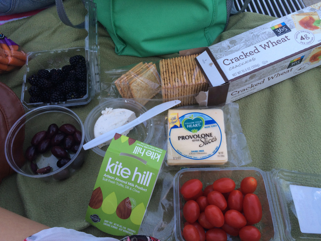 Taylor Wolfram vegan picnic