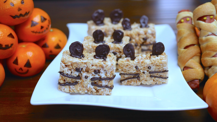 Mice Krispies Treats | Vegan Halloween Recipe