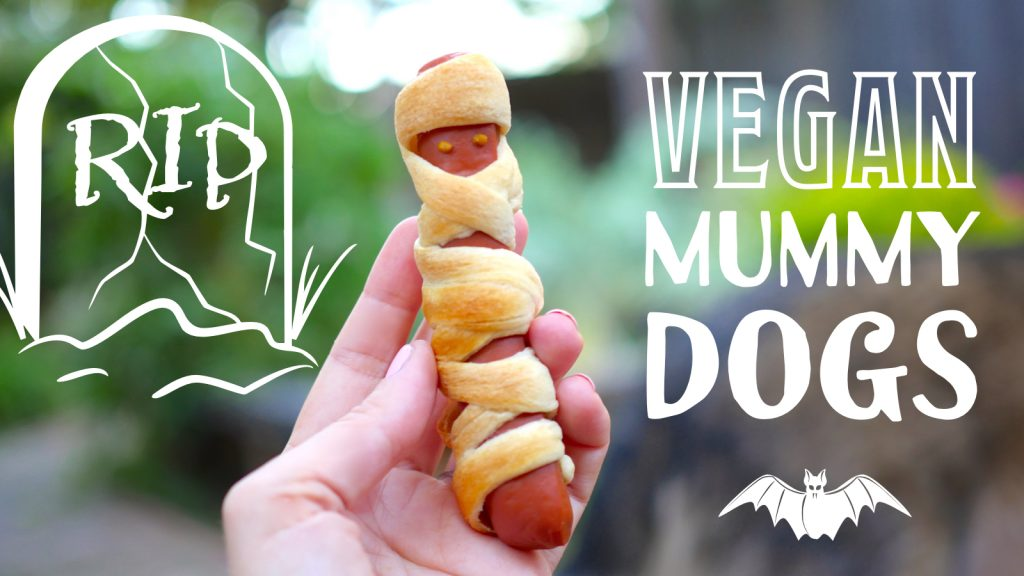 Vegan Halloween Recipe | Mummy Dogs