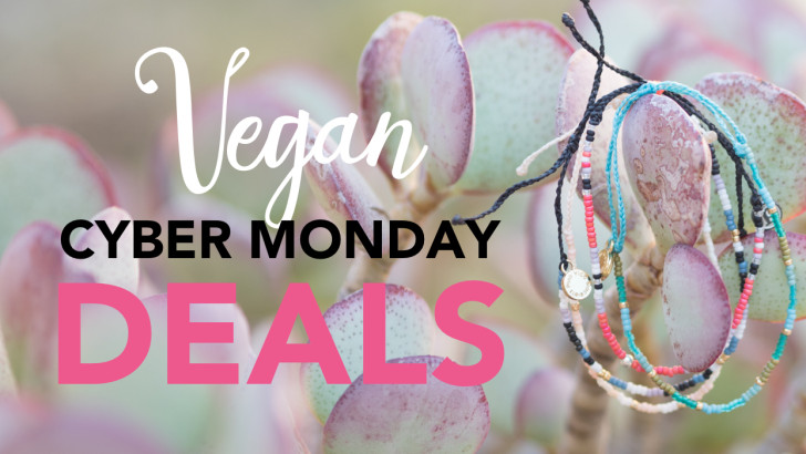 Vegan Cyber Monday Sales 2015