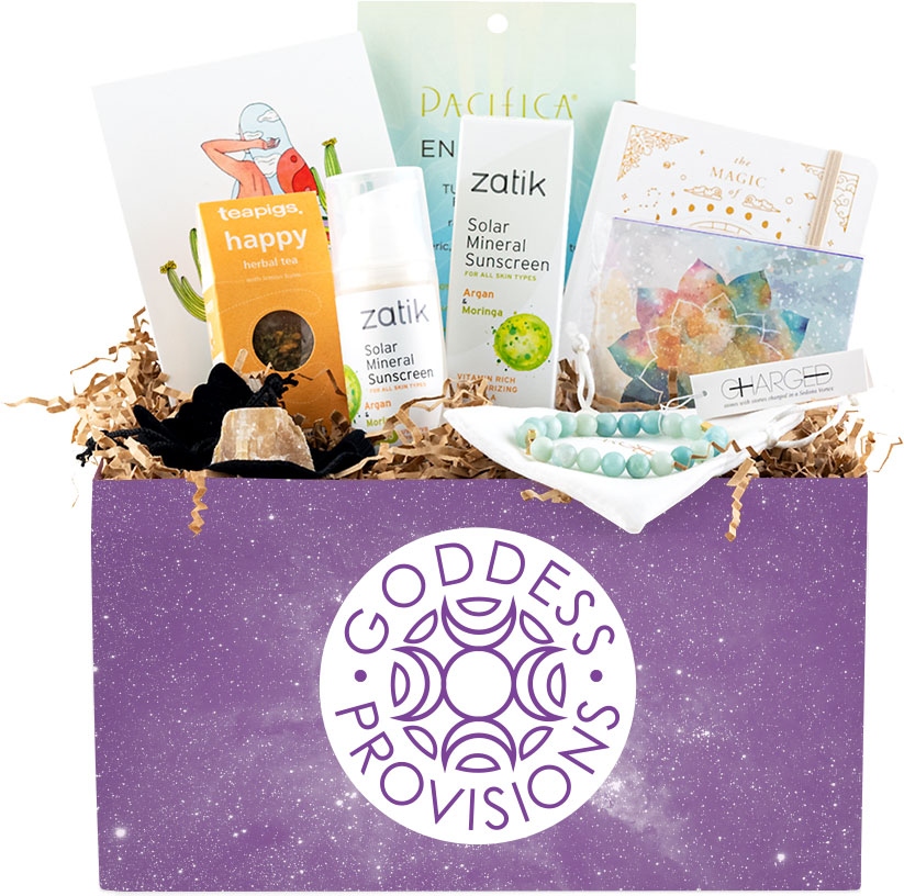 Vegan Subscription Box Goddess Provisions