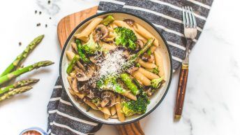 Super-Easy Vegetable Pasta