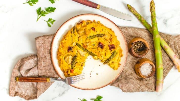 Spring Vegan Frittata Recipe