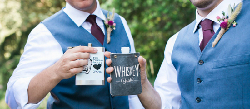vegan wedding alcohol