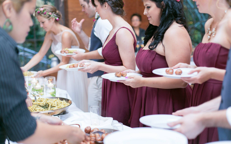 vegan wedding caterer