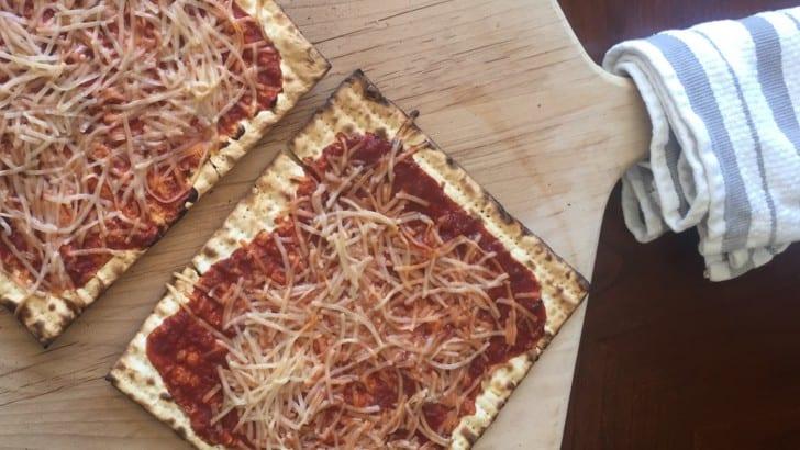 Vegan Passover Recipe: Matzah Pizza