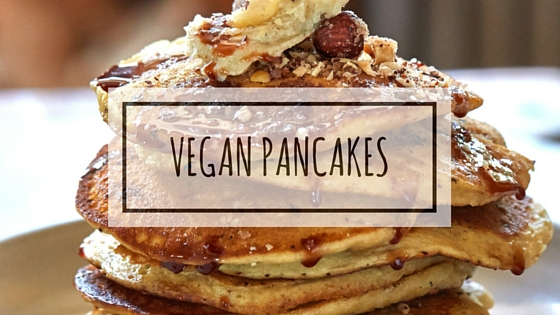 Bourbon Hazelnut Pancakes with Cardamom Brown Butter