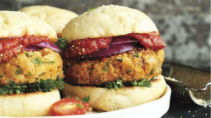Vegan Pizza Burger Recipe