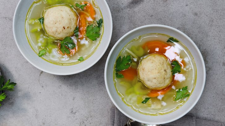 Vegan Matzo Ball Soup Recipe