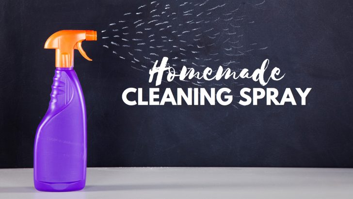 How to Make Chemical-Free Surface Cleaning Spray