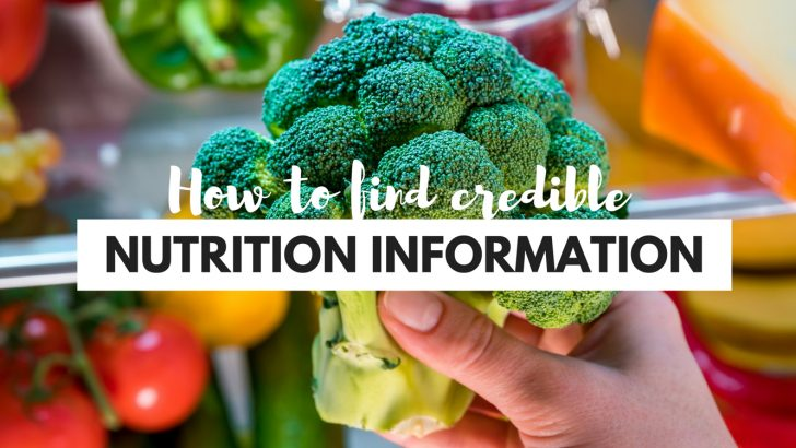 Where to Find Credible Nutrition Information & Vegan Dietitians