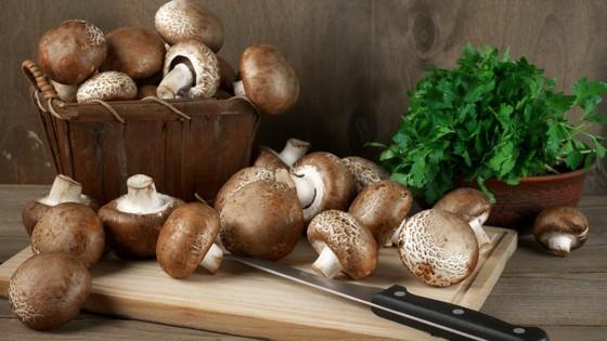 Vegan Stuffed Mushrooms With Crimini Walnut Pâté