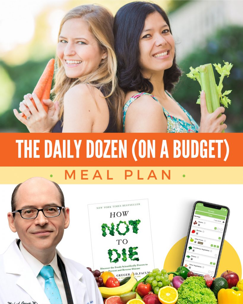 How Not to Die Meal Plan | Dr. Greger's Daily Dozen | Plant-Based Meal Plan