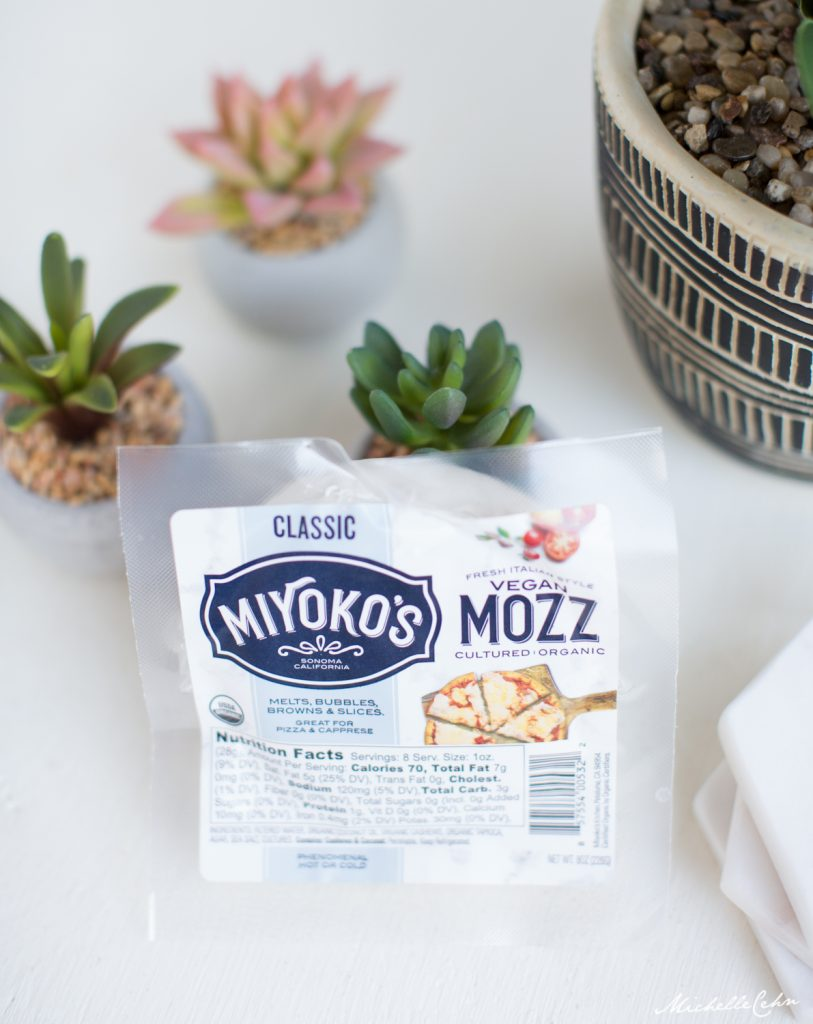 Vegan Mozzarella Cheese from Miyoko's Kitchen