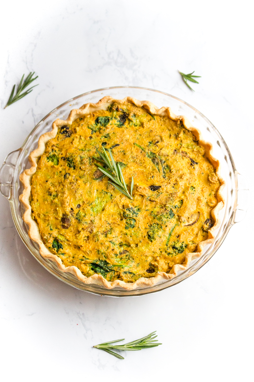 Vegan Quiche Recipe | WorldofVegan.com