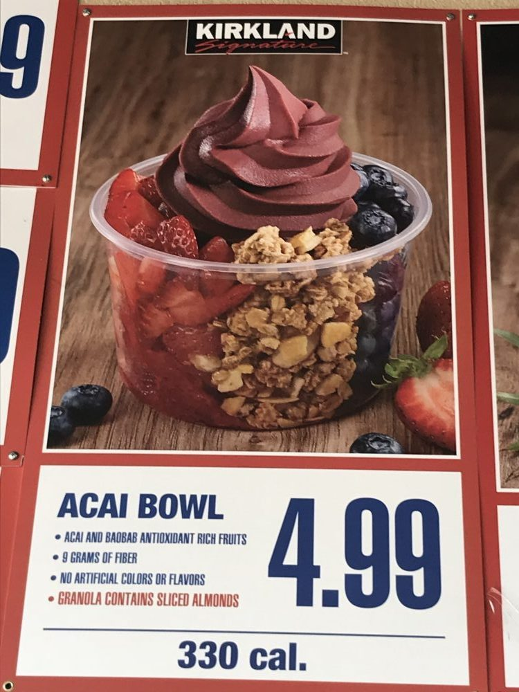 World Of Vegan Costco Vegan Acai Bowl With Vegan Granola