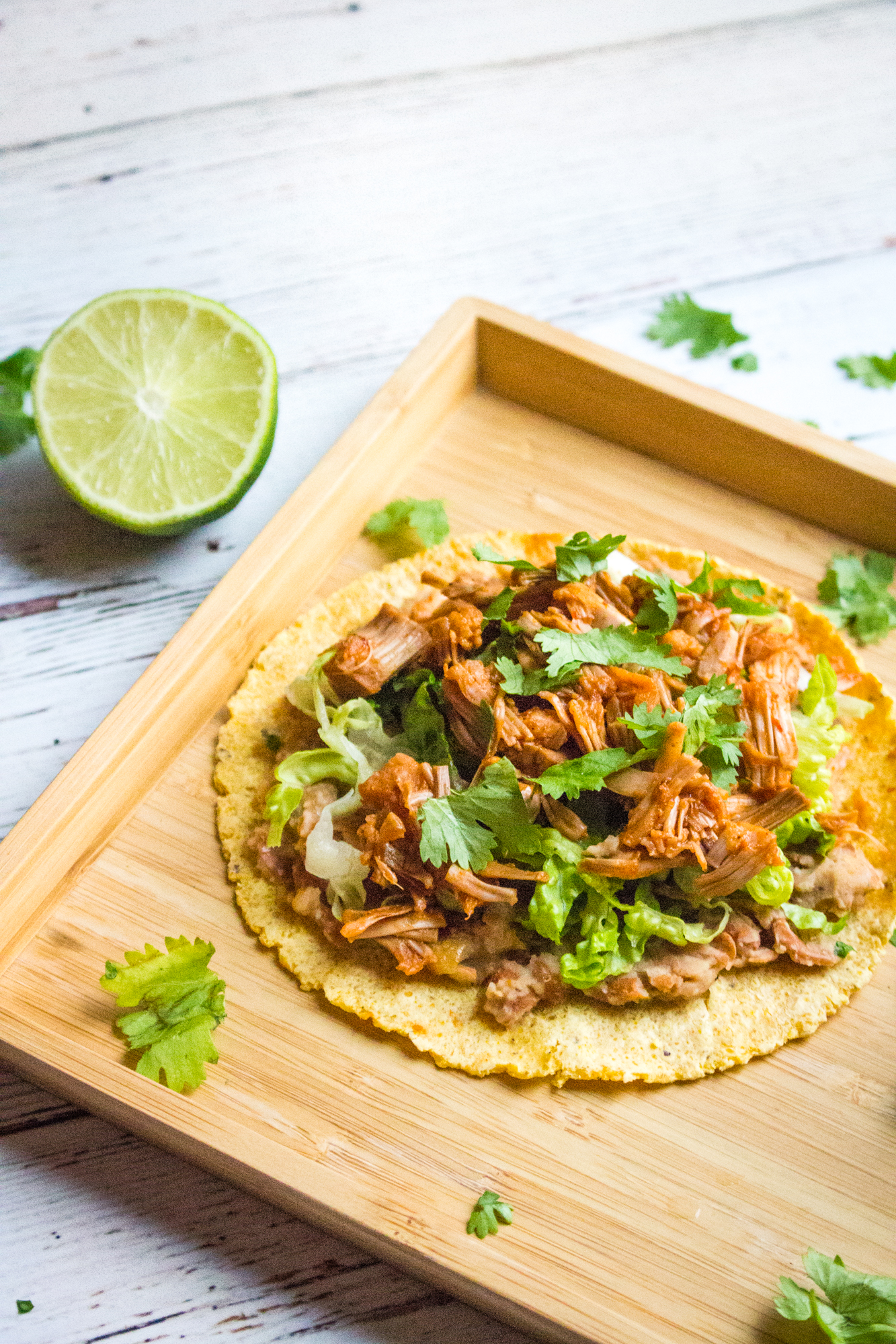 Jackfruit Tostadas | World of Vegan