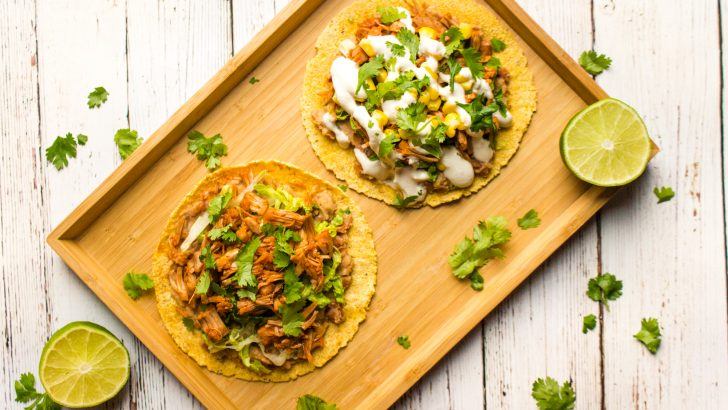 "Jackfruit ""Pulled Pork"" Tostadas"