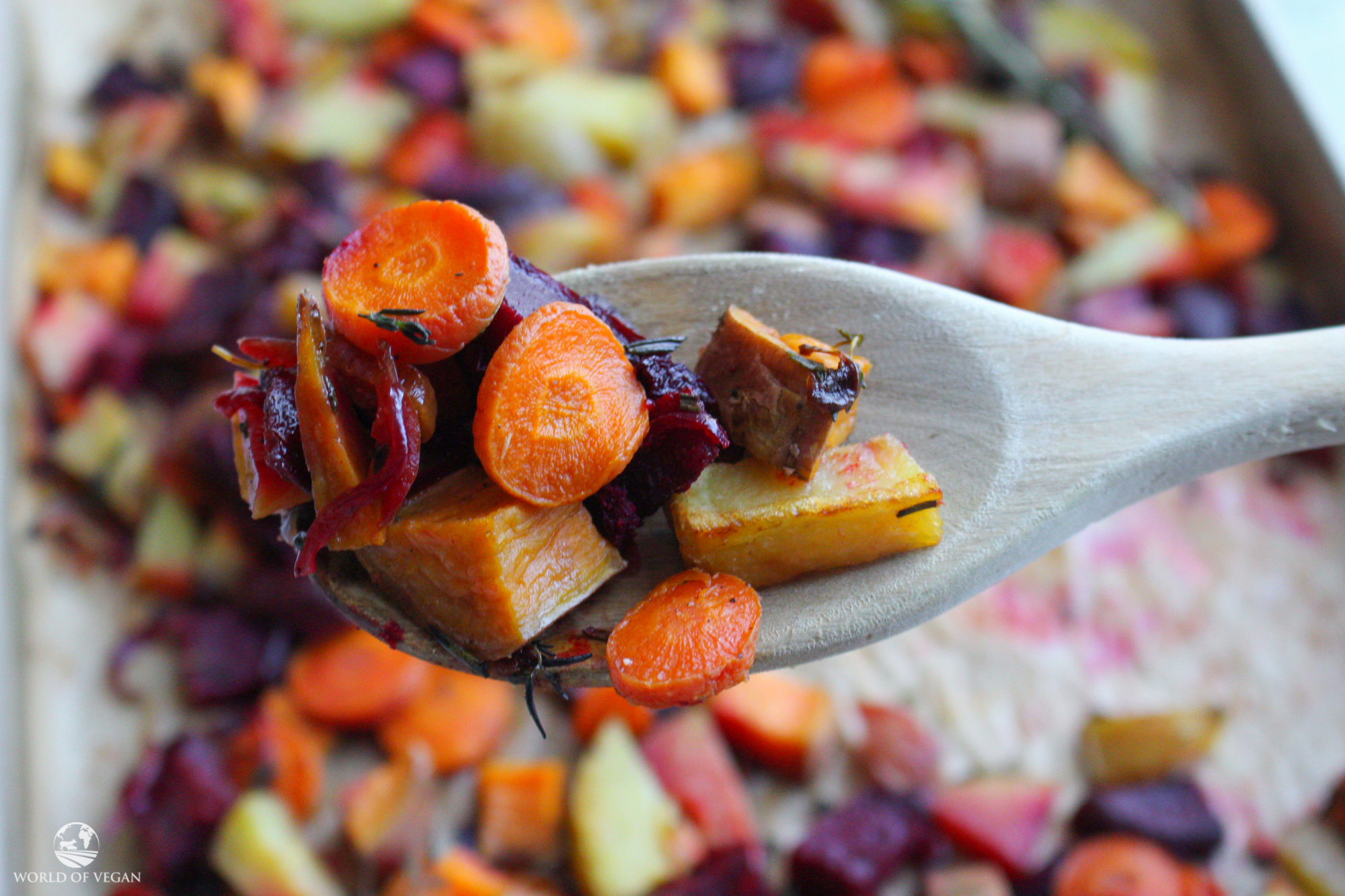 Roasted Root Vegetables | Fall Recipe
