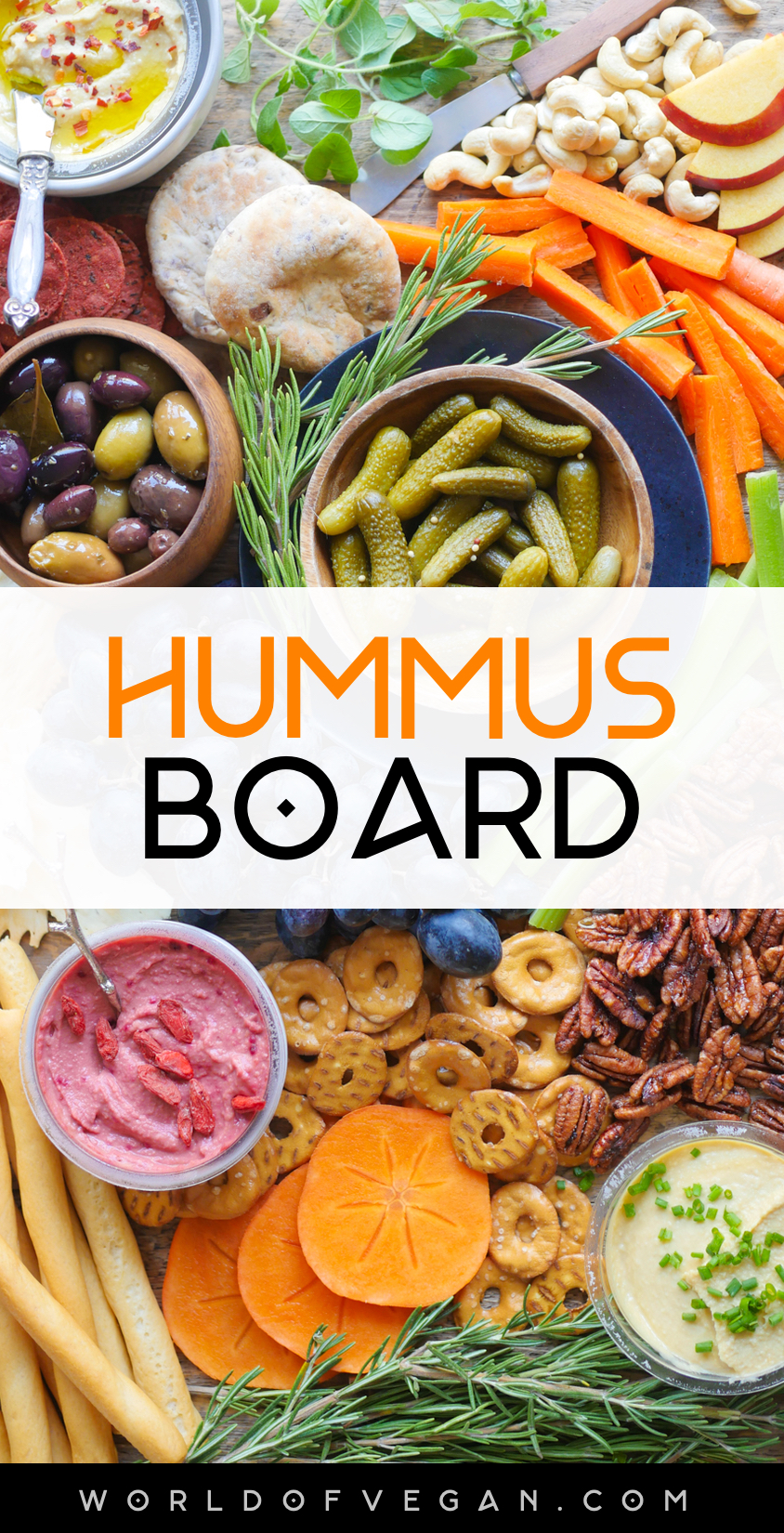 Hummus Board | World of Vegan
