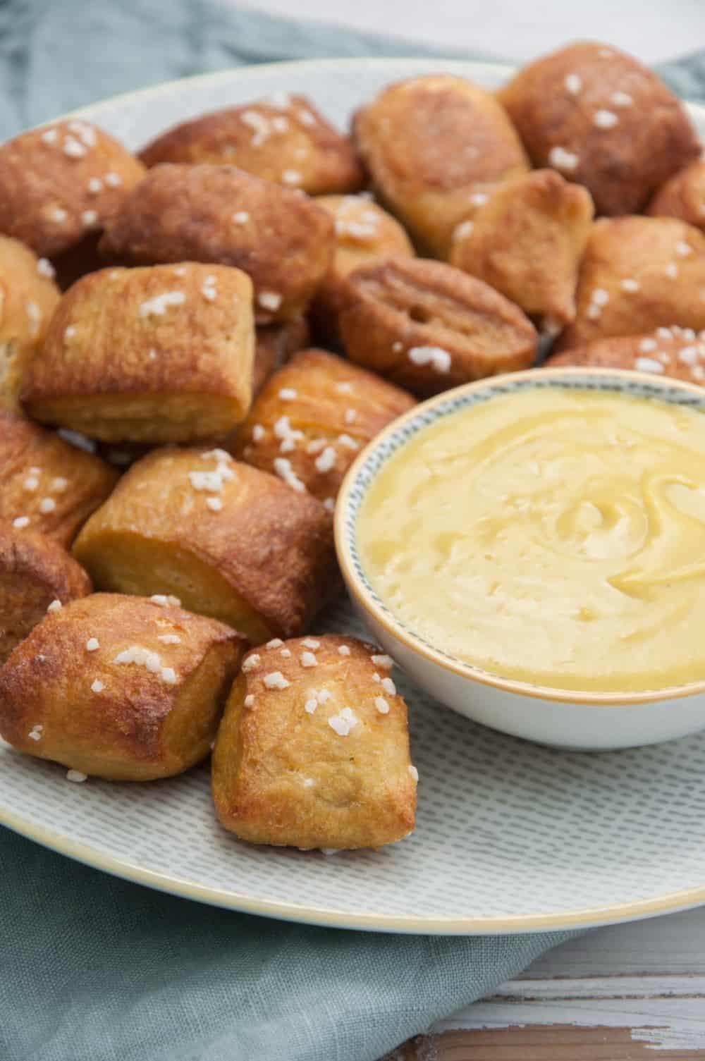 Vegan Soft Pretzels | Cravings Made Vegan Cookbook | WorldofVegan.com | #pretzels #cravings #cookbook #softpretzel