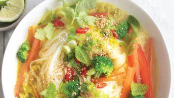 Thai Vermicelli Noodle Soup