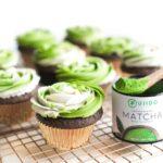 Vegan Matcha Buttercream Frosting | St. Patrick's Day Cupcakes | WorldofVegan.com | #matcha #dessert #cupcakes #green #worldofvegan