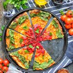 Vegan Rainbow Pizza | Easy & Quick Dinner Recipe | WorldofVegan.com | #healthy #pizza #dairyfree #quick #easy #italian #worldofvegan