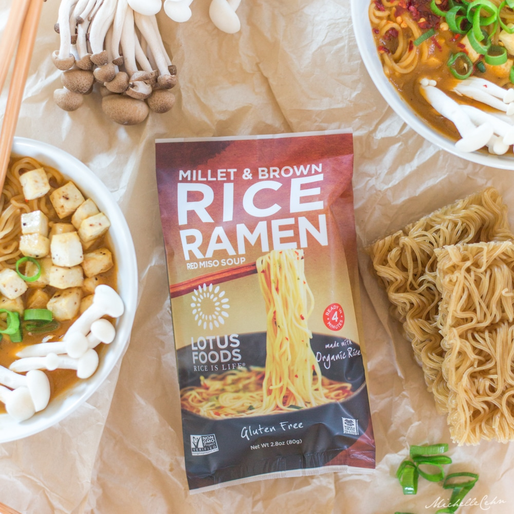 Easy Vegan Ramen Noodle Soup Recipe | WorldofVegan.com #ramen #vegan #soup #worldofvegan #vegetarian #food #recipe