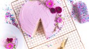 Super-Easy Vegan Birthday Cake