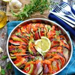 Ratatouille Recipe | Easy & Simple Vegan Side Dish | WorldofVegan.com | #french #ratatouille #sidedish #tomatoes