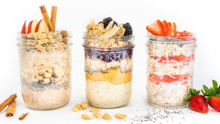 Overnight Oats (3 Ways!)