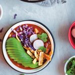 Vegan Mexican Soup Recipe   Spicy Quick Vegan Soup   WorldofVegan.com   #soup #recipe #vegan #worldofvegan #mexican