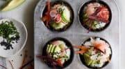 Easy Vegan Sushi Cupcakes