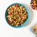 Fresh Bean & Corn Salad Recipe | World of Vegan | #salad #beans #vegan #lunch #worldofvegan