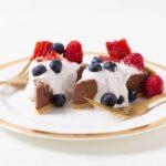 Four Ingredient Chocolate Pie | World of #pie #chocolate #dessert #vegan #worldofvegan