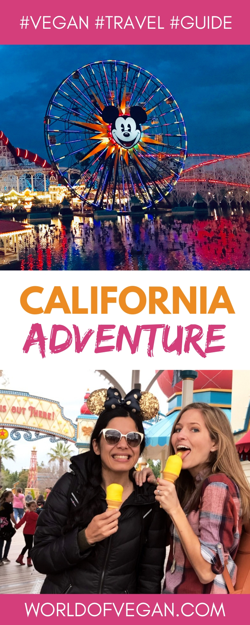 Vegan at Disney California Adventure | WorldofVegan.com #vegan #disney