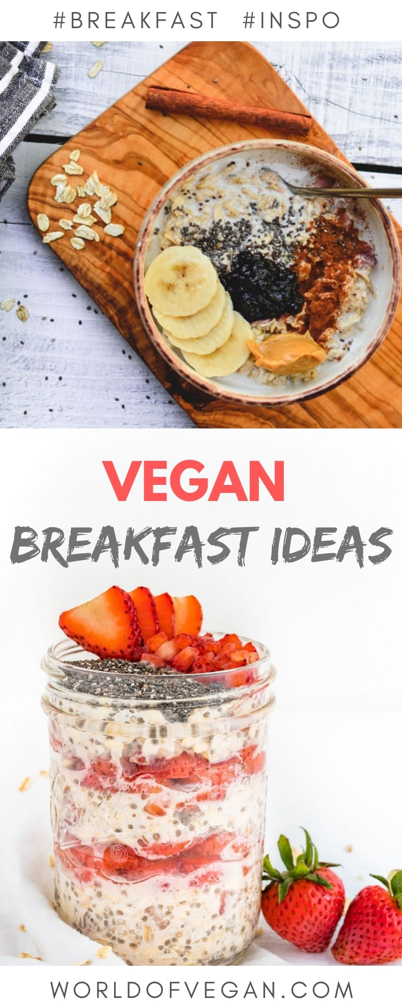 10 Easy Vegan Breakfast Ideas To Get Out of a Rut | WorldofVegan.com