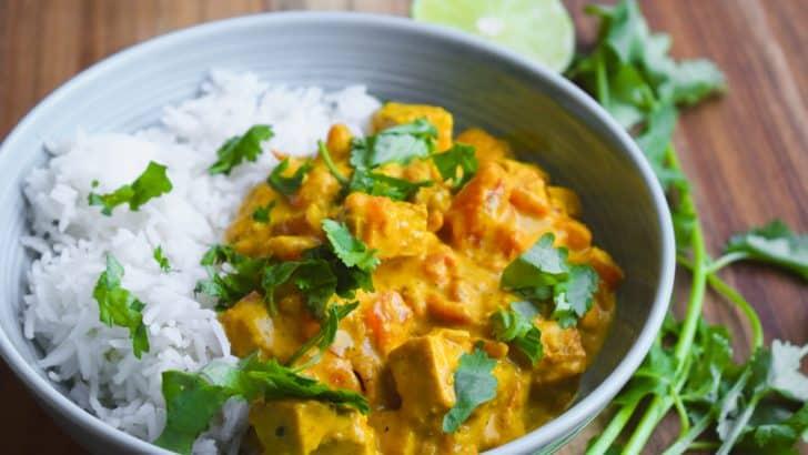 Vegan Butter Chicken | Indian Inspired Dinner