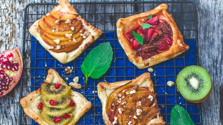 Mini Vegan Fruit Tarts