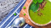 Easy Pea of Broccoli Soup