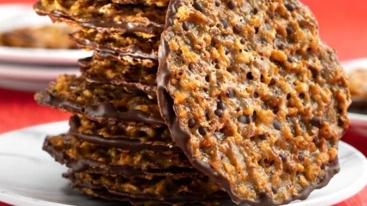 Vegan Florentine Cookies