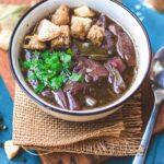 Vegan French Onion Soup | World of Vegan | #soup #vegan #onion #french #fall #winter #worldofvegan