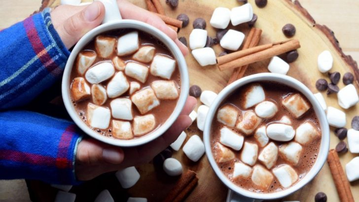 Cozy Spiced Vegan Hot Chocolate