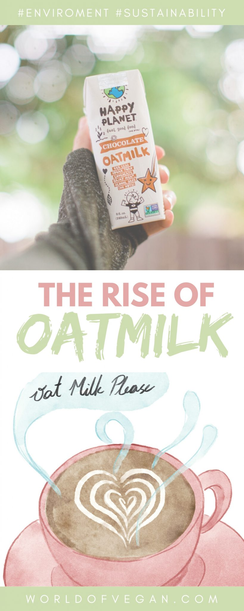 The Rise of Oatmilk Graphic