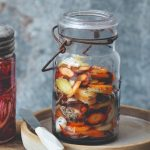 Homemade Pickled Veggies | Pickled Onions & Carrots | World of Vegan | #pickles #preserves #homemade #veggies #jars #worldofvegan