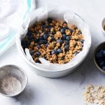 Vegan Air Fryer Granola Recipe | WorldofVegan.com | #granola #breakfast #vegan #easy #recipe #worldofvegan