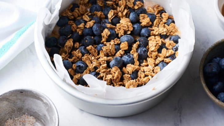 Vegan Air Fryer Granola
